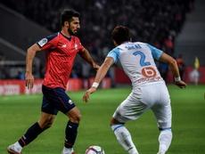 Le défenseur de Lille Zeki Celik. AFP