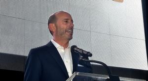 Le président de la MLS Don Garber, le 7 juillet 2015 à Atlanta