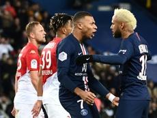 Mbappé et Neymar joueurs les plus chers des clubs champions. AFP