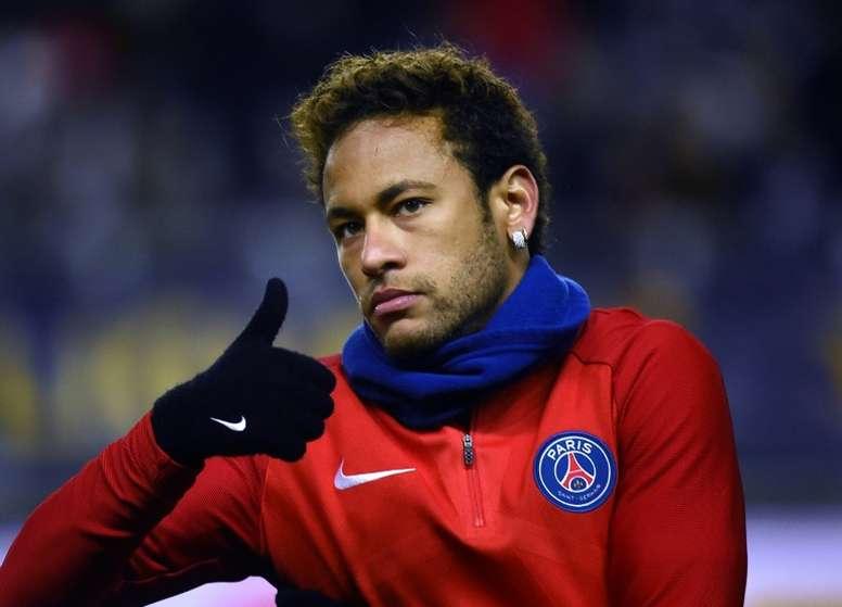 United pode fazer super proposta por Neymar. AFP