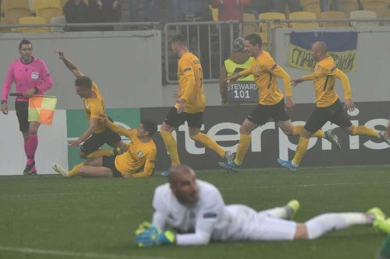 Rennes éliminé, Saint-Etienne contraint à l'exploit. AFP