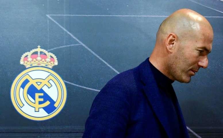 Zidane abandona el equipo dejando nueve títulos en sus vitrinas. AFP