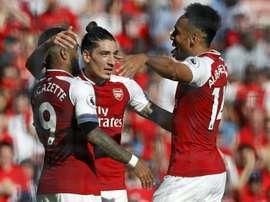 Bellerin restera à Arsenal. AFP