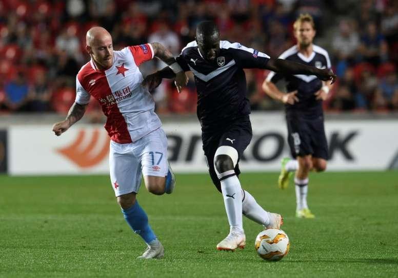 Los checos golearon por 4-0 al Slovacko. AFP