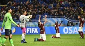 Les Mexicains de Club América en liesse après leur victoire face aux Sud-Coréens de Jeonbuk. AFP