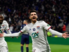 Garcia n'a pas de regret sur le départ de Terrier à Rennes. afp