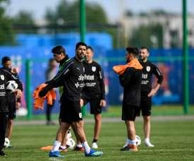 Uruguay debuta en el Mundial ante Egipto. AFP
