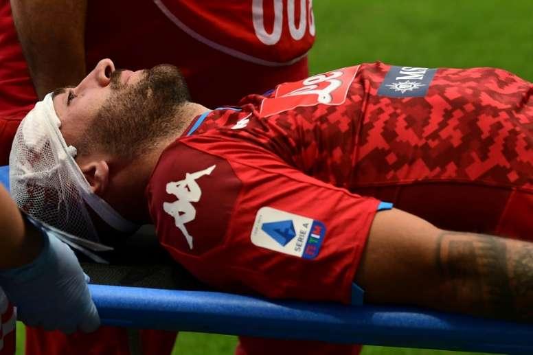 David Ospina se recuperou do choque sofrido contra o Atalanta. AFP