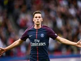 Julian Draxler contra o Bordeaux. AFP