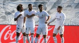 Hazard-Benzema, connexion rétablie au Real. AFP
