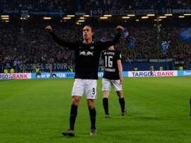 Leipzig qualifié pour sa première finale. AFP