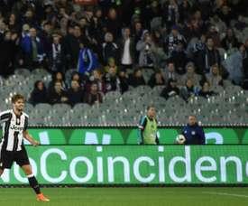Carlos Blanco es uno de lo jugadores con más futuro de la Juventus. AFP