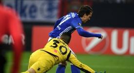 El Schalke 04 pone a la venta a Konoplyanka. AFP