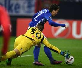 Schalke met Konoplyanka en vente. AFP