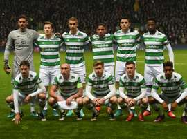 Celtic Glasgow Team, the unbeaten Team. AFP
