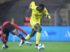 Les compos probables du match de Ligue 1 entre Dijon et Nantes. AFP