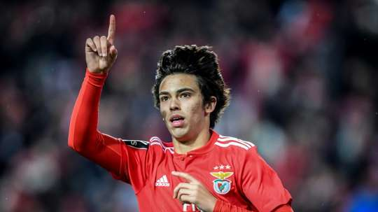 Joao Felix has liked Marcos Llorente's move to Atletico. EFE