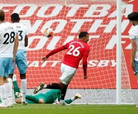 United fica no empate e vai para o tudo ou nada na rodada final. AFP