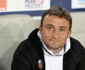 Le contrat de Franck Haise, l'entraîneur de Lens, prolongé. AFP