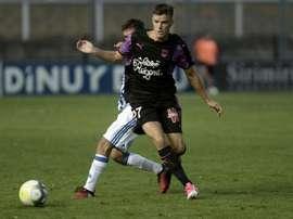 Frédéric Guilbert avec Bordeaux contre la Real Sociedad en match amical à Irun, au pays basque. AFP
