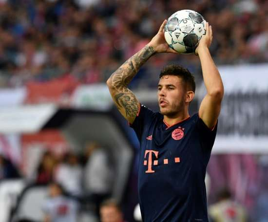 Lucas Hernández wants to play more. AFP