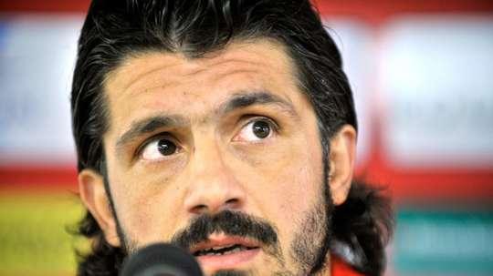 El Milan podría recurrir a Gattuso. AFP