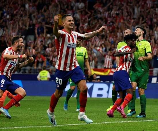 L'Atlético s'offre une remontada et s'installe en tête. AFP