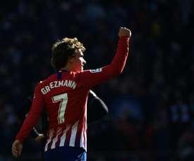 Griezmann é vital para o Atlético. AFP
