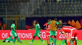 O Senegal está na final da CAN depois de vencer a Tunísia pela margem mínima. AFP