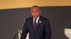 Suspendu 5 ans, le président de la CAF saisit le TAS. afp