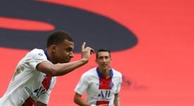 PSG, Liverpool y Madrid lucharán por Mbappé en 2021. AFP