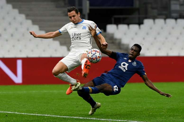Florian Thauvin is to Milan and Sevilla's taste. AFP