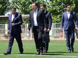 Wilmots quitte l'Iran sans avoir signé de contrat de sélectionneur. AFP