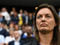 Diacre encense Le Sommer. AFP