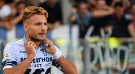 Immobile veut rester à la Lazio. AFP