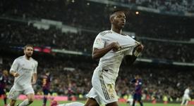 Vinicius prometeu que o melhor está por vir. AFP