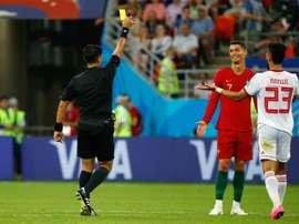 Cristiano aurait pu être sanctionné. AFP
