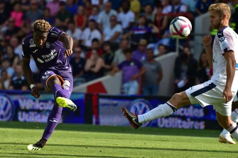 Leya Iseka sigue anotando en la Ligue 1. AFP