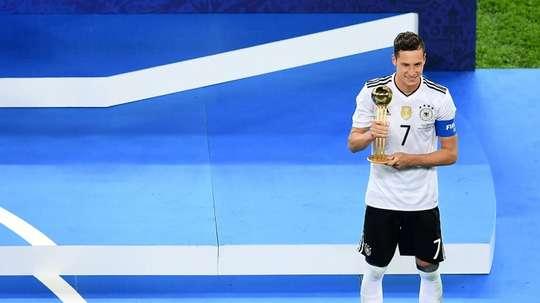 Draxler foi eleito o MVP da competição. AFP