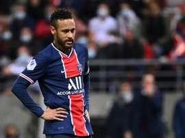 Neymar croule sous les dettes. AFP