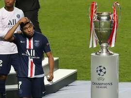 Este es el grupo H de la Champions League 2020-21. AFP