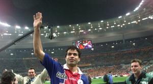 Rai désigné meilleur joueur de l'histoire du PSG. AFP