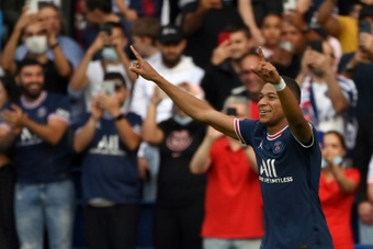 Le classement des meilleurs buteurs de Ligue 1 2021-2022. AFP
