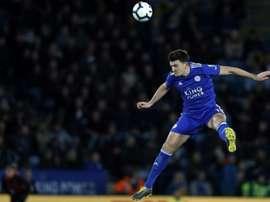 Hull City va recevoir 15% de la vente de Maguire. AFP