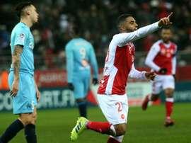Les compos probables du match de Ligue 1 entre Dijon et Reims. AFP
