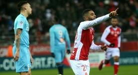 El Stade de Reims sumó su segunda victoria consecutiva. AFP