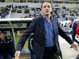 Faruk Hadzibegic, alors entraîneur dArles-Avignon. AFP