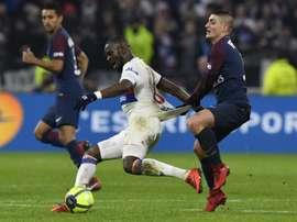 Ndombèlé podría cambiar de equipo. AFP