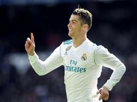 Ronaldo leads the scoring charts. AFP