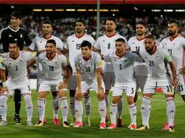 Dos goles de Cenk Tosun tumbaron a una versión inofensiva de Irán. AFP/Archivo